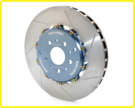 GIRODISC Rear 2pc Floating Rotors for 458 Italia