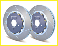 GIRODISC Front 2pc Floating Rotors for Chevy Corvette C6 ZO6