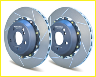 GIRODISC Rear 330mm 2-piece Rotor Upgrade for C63 AMG Mercedes (08-11)