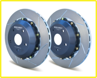 GIRODISC Rear 2pc Floating Rotors for 08-11 STi