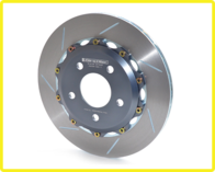 GIRODISC Rear 2pc Floating Rotors for Boss 302