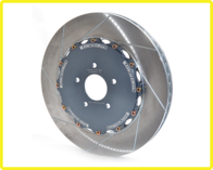 GIRODISC 395mm Front 2-piece rotors for R35 Nissan GT-R